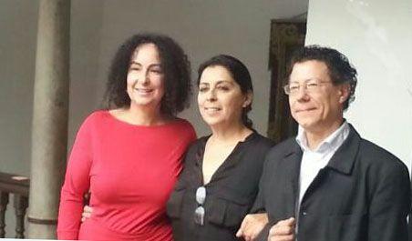 Con Aurora y Reynaldo