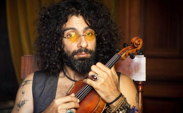 El virtuoso del violín Ara Malikian en 'Letras y Notas'