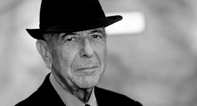 Leonard Cohen (Cantautor y Poeta)