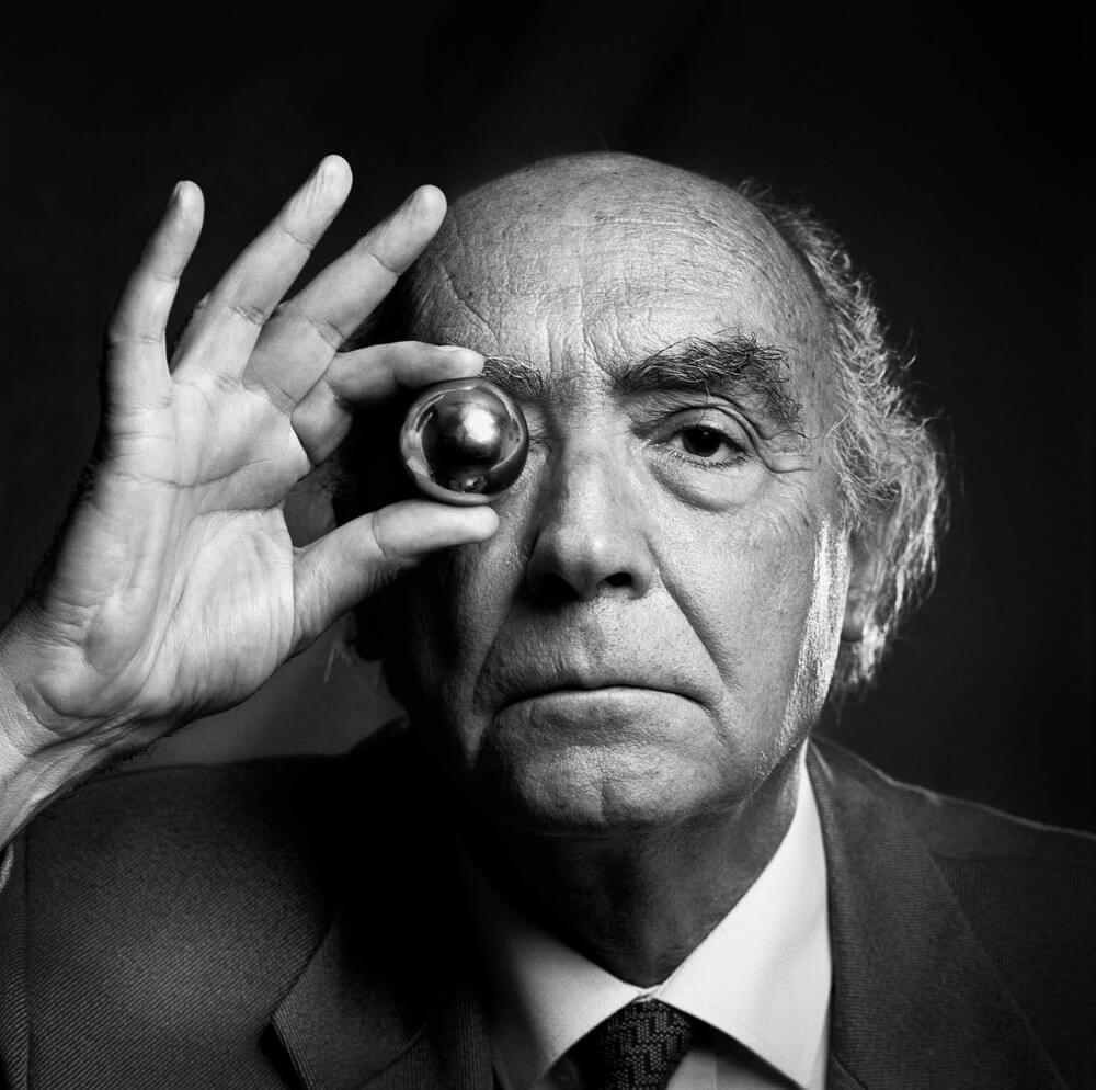 José Saramago (Premio Nobel de Literatura) [Con Pilar del Río]