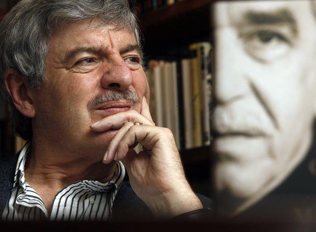 Gabriel García Márquez | Con su biógrafo Gerald Martin