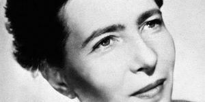 Simone de Beauvoir   Entrevista en Letras y Notas por Eva Santamaría