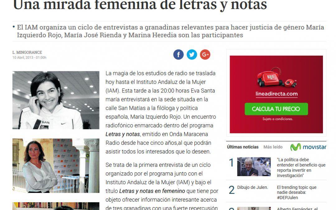 Granada Hoy 10 Abril 2013