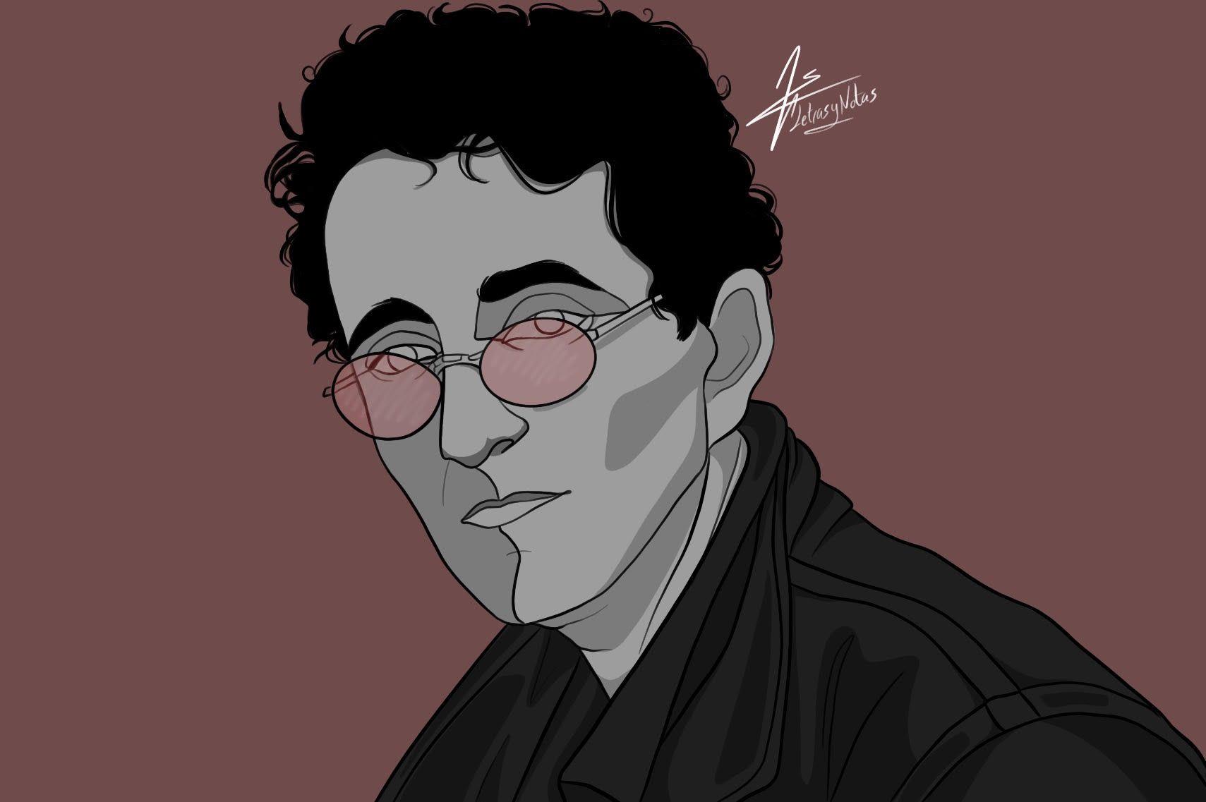 Roberto Bolaño   Entrevista en Letras y Notas   por Eva Santamaría