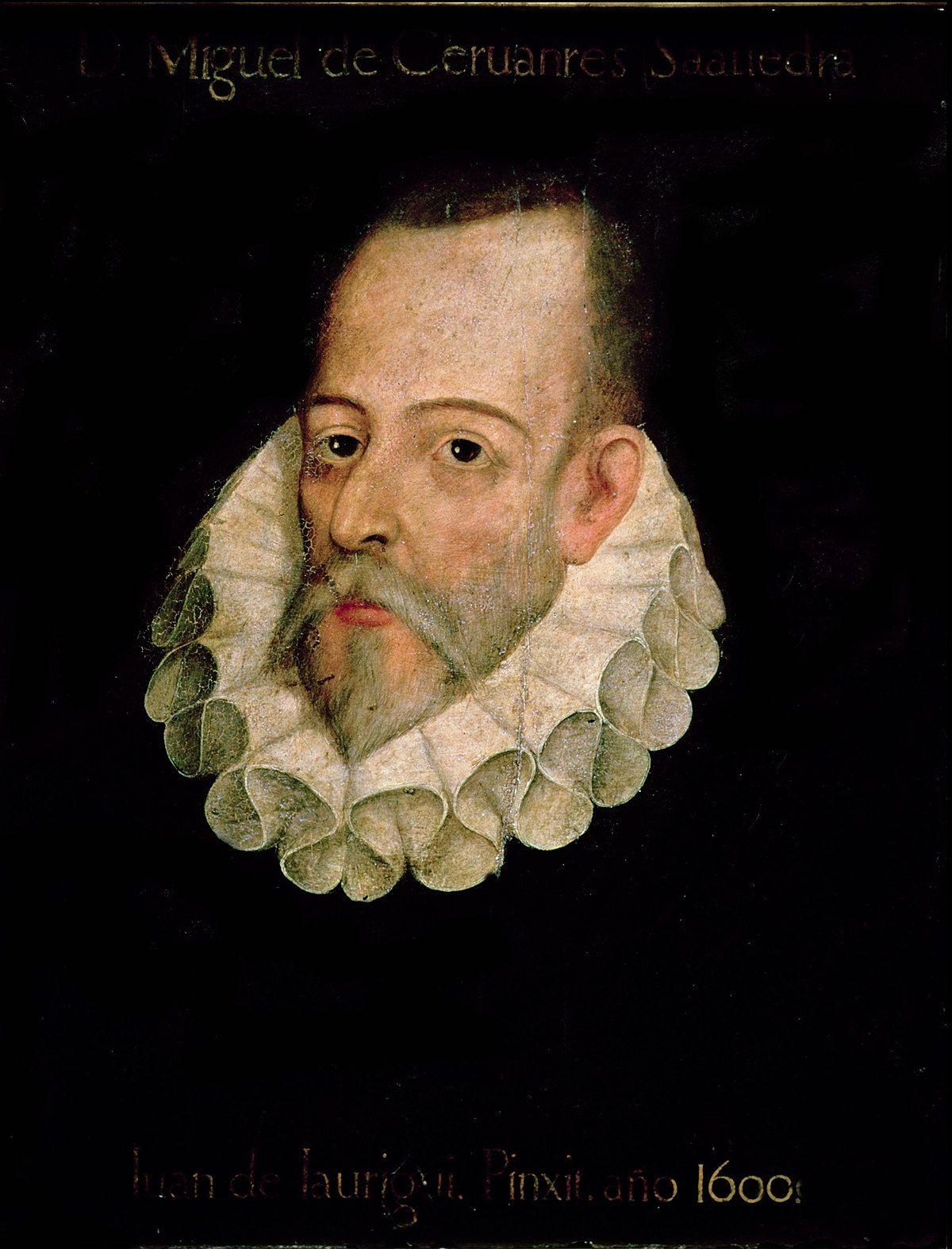 Miguel de Cervantes   Entrevista en Letras y Notas   por Eva Santamaría